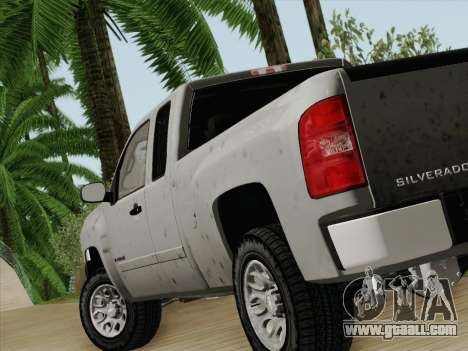 Chevrolet Silverado 2500HD 2013 for GTA San Andreas back left view