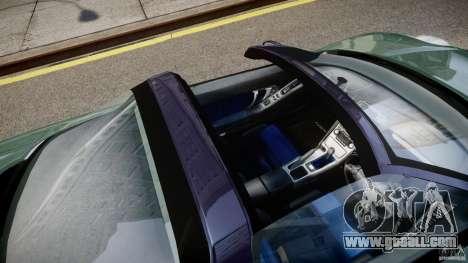 Honda NSX NA2 [Beta] for GTA 4 upper view
