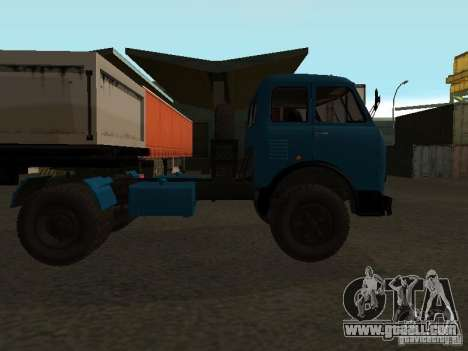 Maz-504 and for GTA San Andreas right view