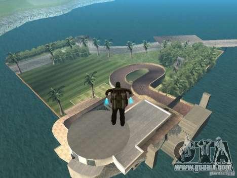 Island mansion for GTA San Andreas
