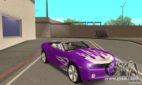 Chevrolet Camaro Concept 2007 for GTA San Andreas