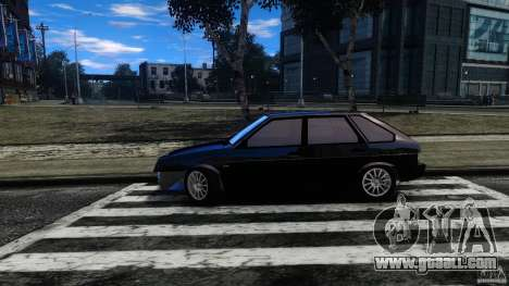 VAZ 2109 Drift Turbo for GTA 4 left view