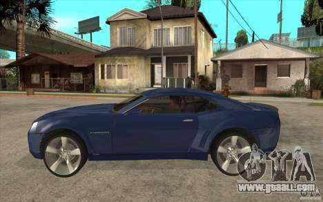 Chevrolet Camaro Concept Tunable for GTA San Andreas left view