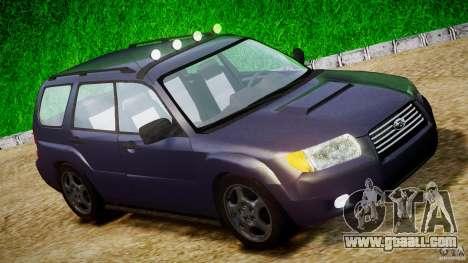 Subaru Forester v2.0 for GTA 4