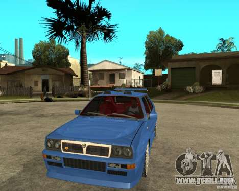 Lancia Delta Sparco for GTA San Andreas