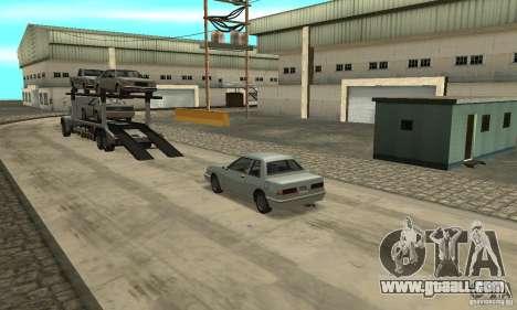 Avtoparkovŝik for GTA San Andreas third screenshot