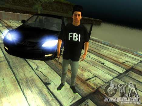 Boy in the FBI for GTA San Andreas