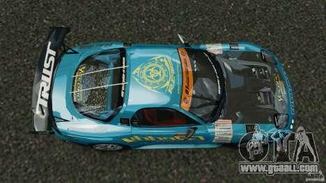 Mazda RX-7 RE-Amemiya v2 for GTA 4 right view