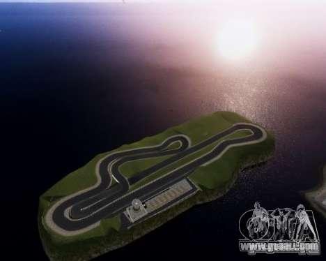 CEA Speedway IV for GTA 4 third screenshot