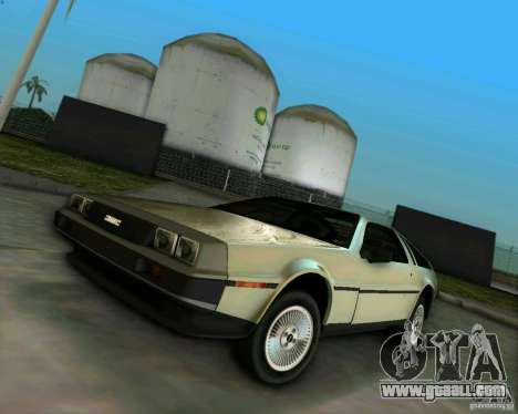 DeLorean DMC-12 V8 for GTA Vice City