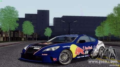Hyundai Genesis Tunable for GTA San Andreas side view
