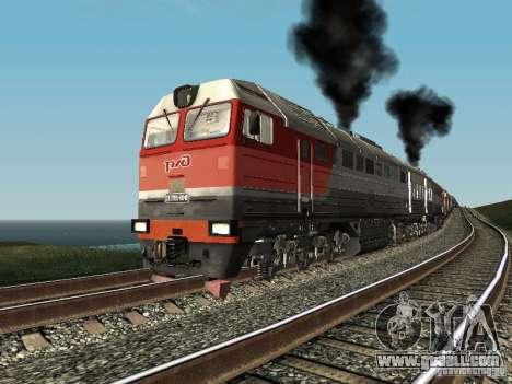 2te116u-0040 RZD for GTA San Andreas