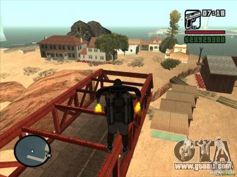 Jetpack spawner for GTA San Andreas third screenshot