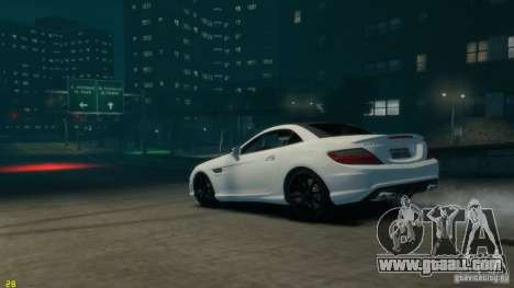 Mercedes-Benz SLK55 R172 AMG 2011 v1.0 for GTA 4 left view