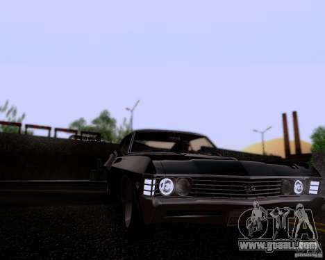 Super Natural ENBSeries for GTA San Andreas