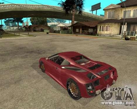 B-Engineering Edonis for GTA San Andreas left view
