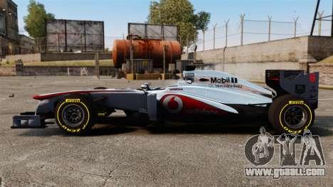McLaren MP4-28 for GTA 4 left view