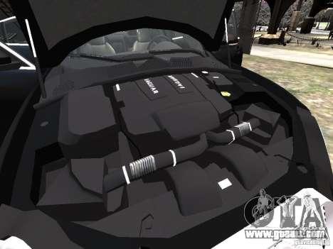 Jaguar XFR for GTA 4 engine