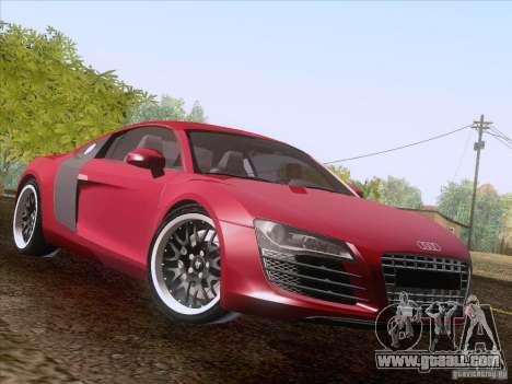 Audi R8 Hamann for GTA San Andreas side view