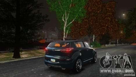 Kia Sportage 2010 v1.0 for GTA 4 back view
