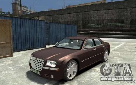 Chrysler 300C for GTA 4
