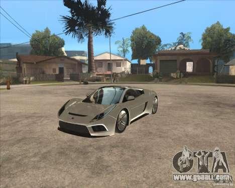 Saleen S5S Raptor for GTA San Andreas