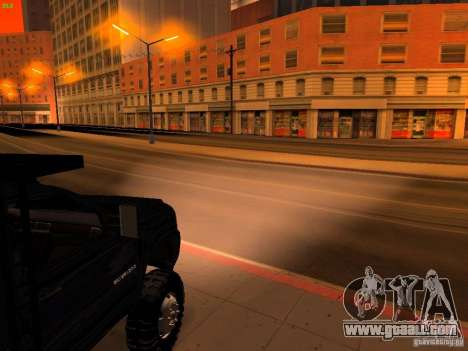 Chevrolet Silverado HD 3500 2012 for GTA San Andreas engine