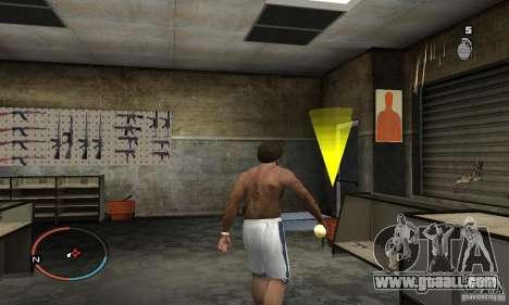 The Holy Grenade for GTA San Andreas third screenshot