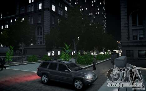 Jeep Grand Cheroke for GTA 4 side view
