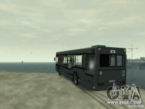 MAZ 103 Bus for GTA 4 back left view