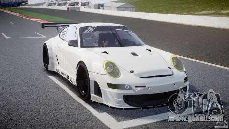 Porsche GT3 RSR 2008 SpeedHunters for GTA 4 inner view