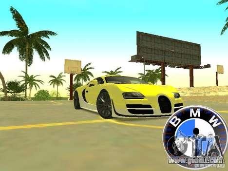 BMW Speedometer for GTA San Andreas second screenshot