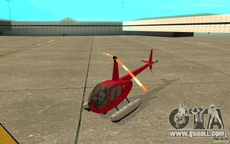 Robinson R44 Clipper II 1.0 for GTA San Andreas left view