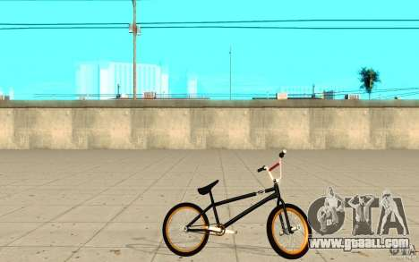 REAL Street BMX for GTA San Andreas left view