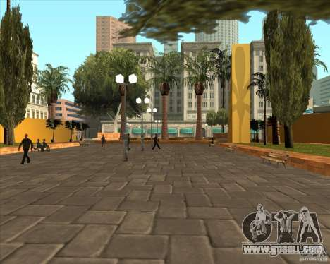 The new Central Park of Los Santos for GTA San Andreas second screenshot