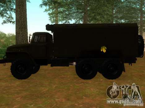 Ural 4320 Kung for GTA San Andreas left view