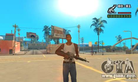 New Weapon Icon Pack for GTA San Andreas third screenshot