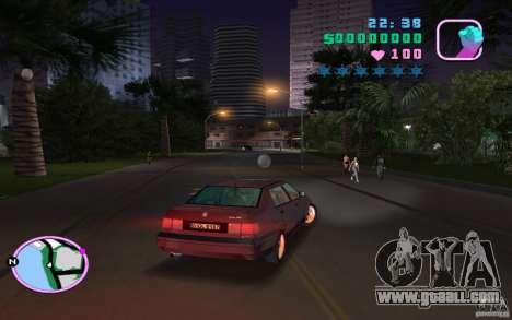Volkswagen Vento VR6 for GTA Vice City left view