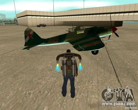 IL-2 m for GTA San Andreas right view