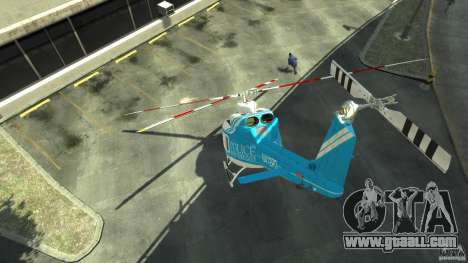 NYPD Bell 412 EP for GTA 4 right view