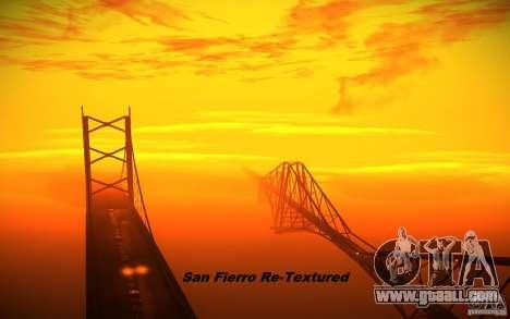 San Fierro Re-Textured for GTA San Andreas