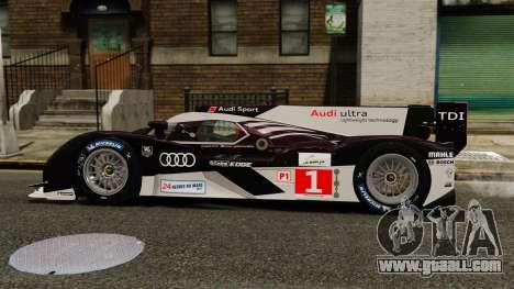 Audi R18 TDI v2.0 for GTA 4 left view