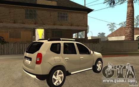 Dacia Duster 2010 SUV 4x4 for GTA San Andreas right view