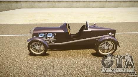 Vintage race car for GTA 4 left view