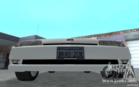 Saturn Ion Quad Coupe for GTA San Andreas left view