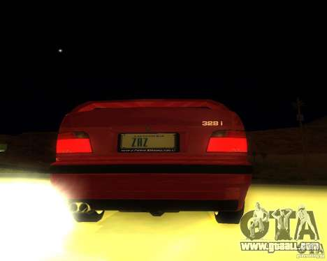 BMW M3 E36 328i for GTA San Andreas right view