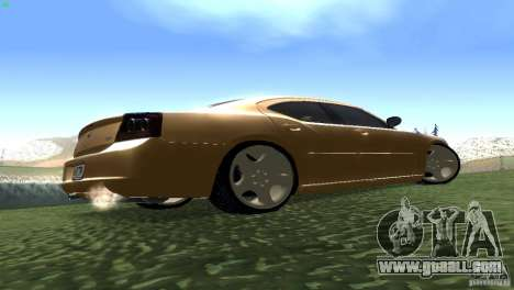 Dodge Charger SRT8 Re-Upload for GTA San Andreas back view