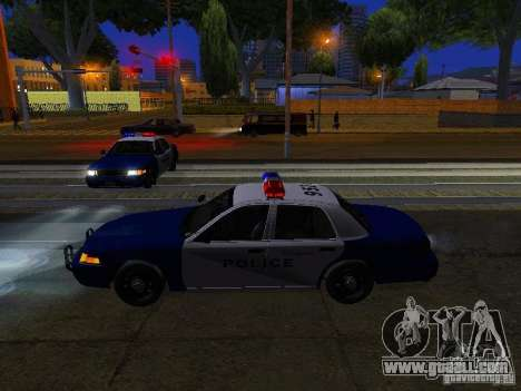 Ford Crown Victoria Belling State Washington for GTA San Andreas wheels