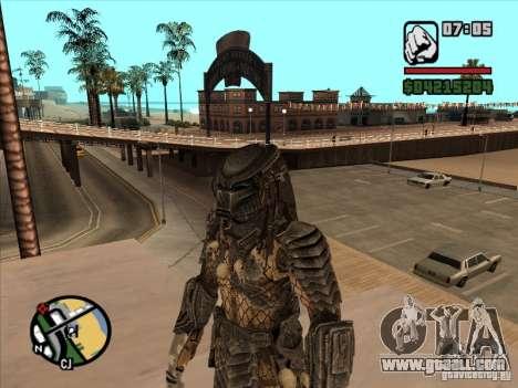 Predator Predator (the mask) for GTA San Andreas third screenshot