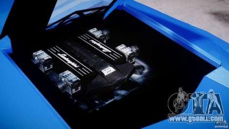 Lamborghini Reventon Polizia Italiana for GTA 4 side view